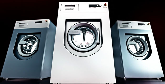 compact launderette washing machines