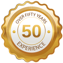 50 years experience